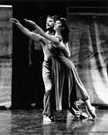 Dancers of the Human Veins Dance Theatre company. Don Asker and unknown woman